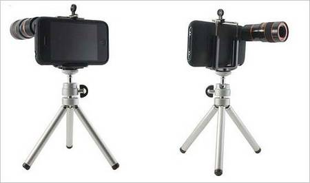 8x Telescope with Tripod Ready for Your iPhone