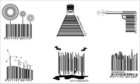 Interesting Barcodes By Japanese Designer Gadgetsin
