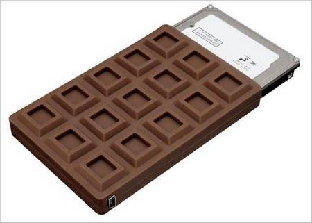 Let Your Portable HDD Like A Chocolate