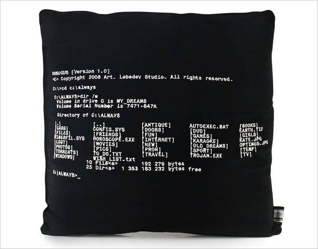 Let Dosogus Pillow Tell You What Is DOS