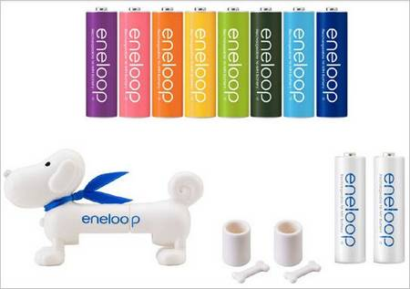 Eneloopy:Sweet Sanyo Battery Checker