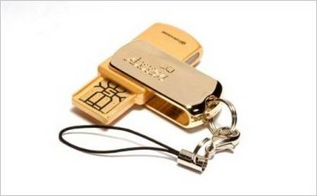 i-Passion 18K Gold USB Flash Drive Replace Gold Ring