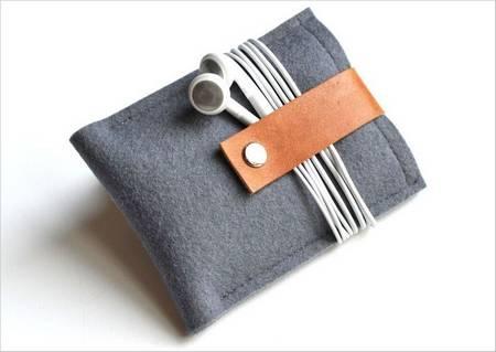 Simple but Useful Handmade iPone Case by Byrd & Bellee