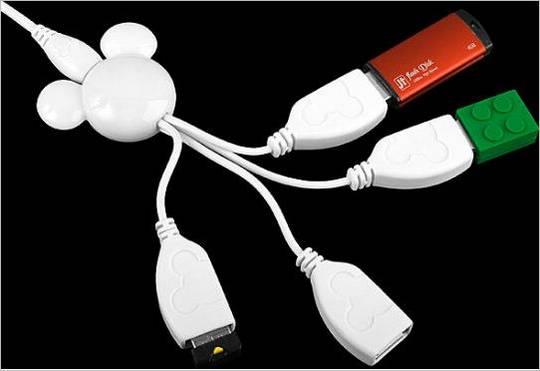 Mickey Mouse USB Hub