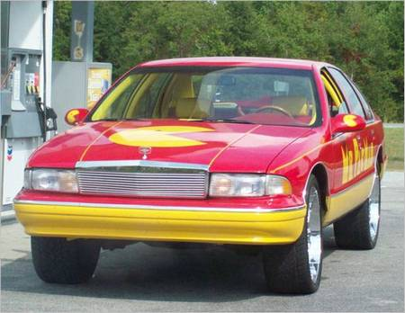 Mr.Pac-Man Chevrolet Car
