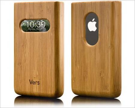 Vers Wooden iPhone Case