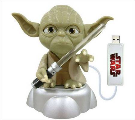 Put Yoda On Your LCD Display