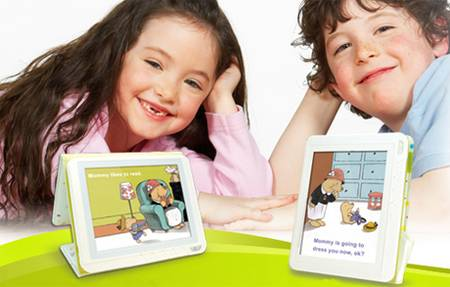 AIPTEK Story Book inColor A eBook Reader for Kids