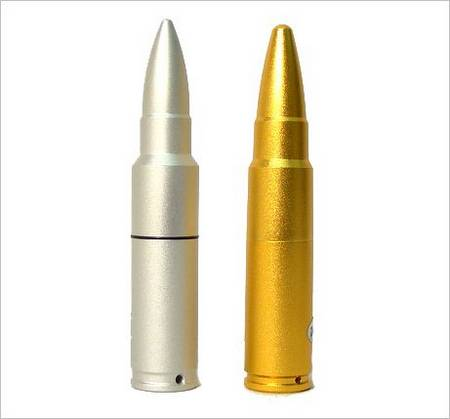 Bullet-shaped Flash Drive