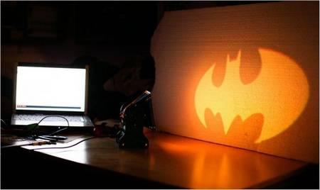 DIY a Batman Lamp