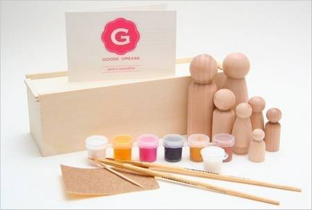 Goose Grease DIY Wooden Doll Kit