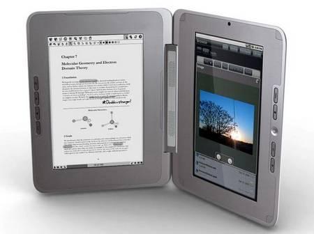 EnTourage eDGe A New E-book Reader With Netbook