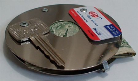 Crazy Hard Disk Drive Wallet