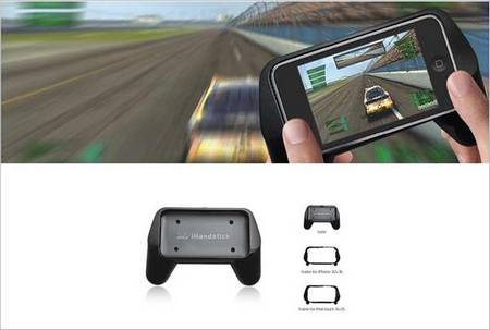 Add a Gamepad for iPhone with iHandstick