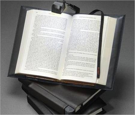 Read Book with Illuminating Book Cover in Dark