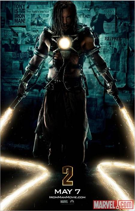 Iron Man 2 Latest Movie Poster