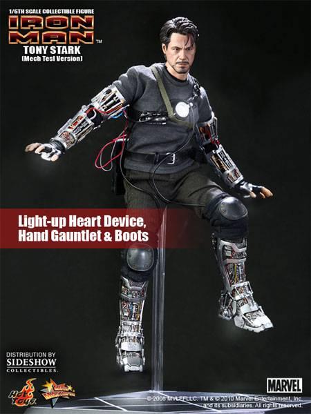 Iron Man Tony Stark Test Flying Figure