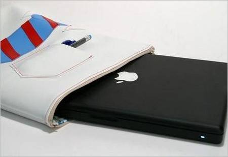 Laptop Sleeve Like a Folded Shirt