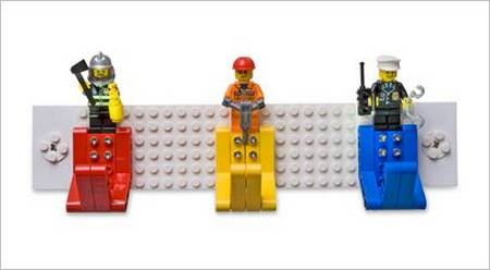 Practical LEGO Coat Rack