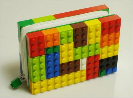Customize Unique LEGO Brick Wallet by Yourself