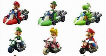 Mario Kart Pull Back Racers for Mario Fans