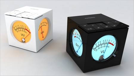 Mint Cube MP3 Player Designed for Men