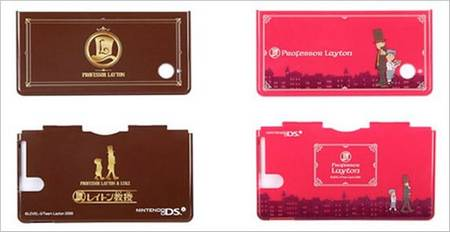 Professor Layton Nintendo DS Case