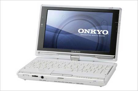 Onkyo Tablet PC Running Windows 7