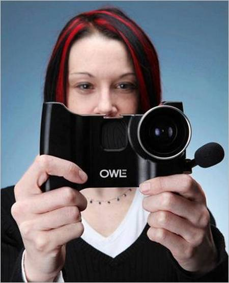 Owle Bubo Turns Your iPhone into Camcorder