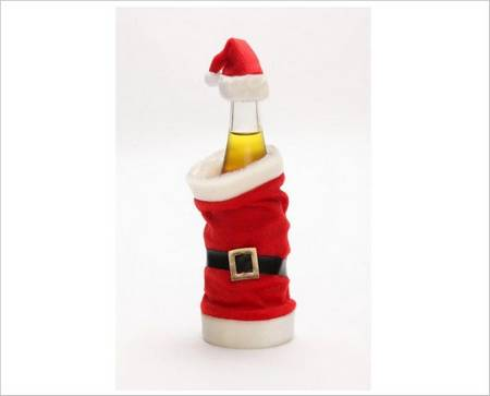 Santa Clause Cozy for Your Cold Beverage