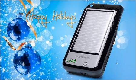 Solar Surge Portable Charging Solution iPhone