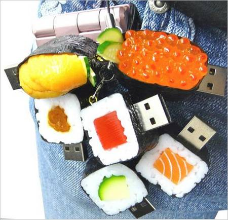 Solid Alliance's SushiDisk USB Drive