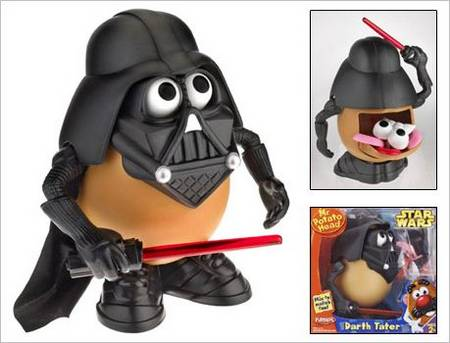 Darth Vader Potato Edition