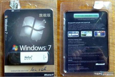 Creative Pirate and Its USB Drive Preloaded Windows 7