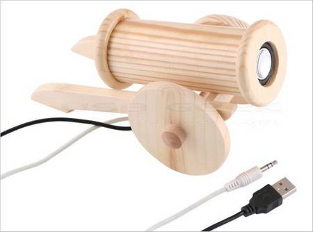 USB Speaker or USB Wooden Cannon
