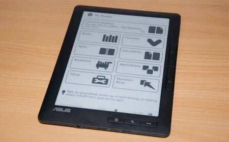 ASUS unveiled DR-950 eBook Reader