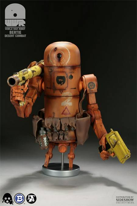 Bertie The Pipebomb, robots from battlefield
