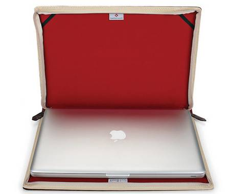 BookBook Case hides your MacBook in hardcover