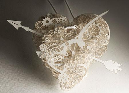 Clockwork Love for amazing Valentines Day