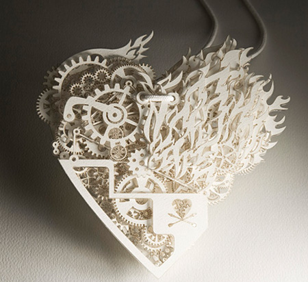 Clockwork Love for amazing Valentines Day