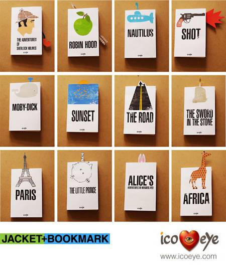 dust jackets and bookmarks
