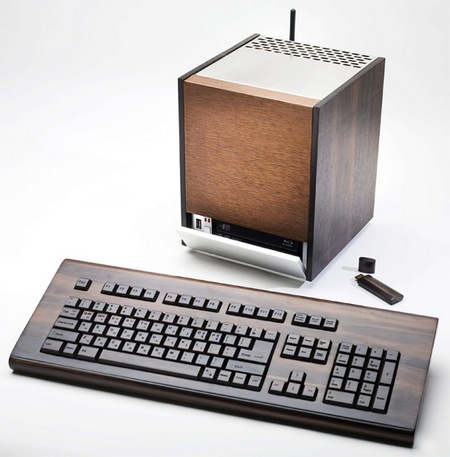 Eco-friendly Wooden HTPC