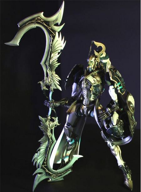 Final Fantasy XIII Transformable Odin Action Figure from Play Arts -Kai-