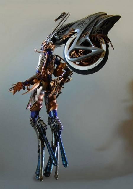 Final Fantasy XIII Shiva Action Figure