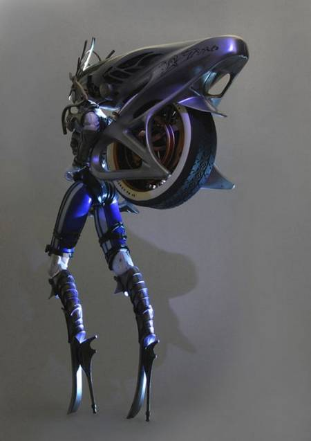 Final Fantasy XIII Shiva Action Figure