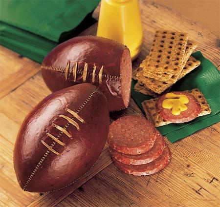 Amazing Football Sausage