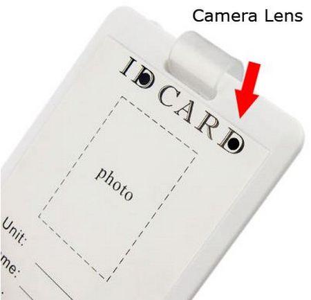 ID Card spy camera