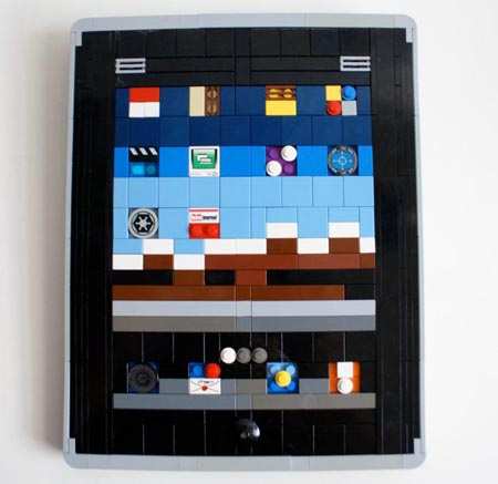 The iPad Built with LEGO bricks