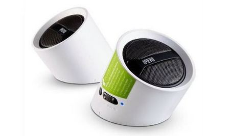 IPEVO Tubular Wireless Blutooth Speakers