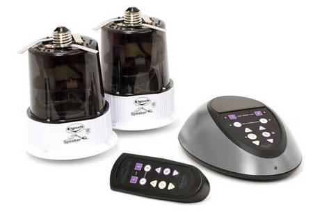 Klipsch LightSpeaker System turns lights into speakers